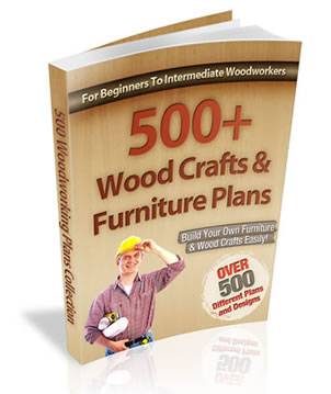 500 wood craft plans